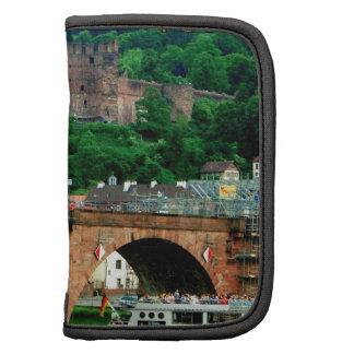 Puente y castillo viejos II de Heidelberg Organizador