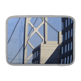 Puente y edificios, San Francisco de la bahía Fundas Para Macbook Air