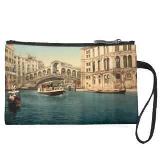 Puente y Gran Canal, Venecia, Italia de Rialto
