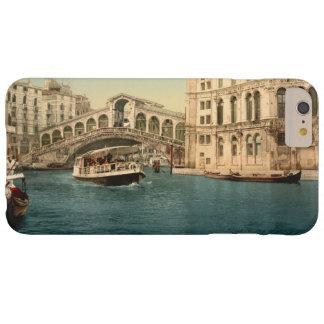 Puente y Gran Canal, Venecia, Italia de Rialto Funda Para iPhone 6 Plus Barely There