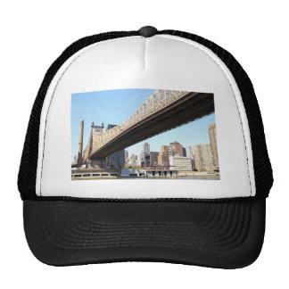 Puente y Manhattan de Queensborough Gorro De Camionero