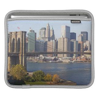 Puente y paisaje urbano manga de iPad