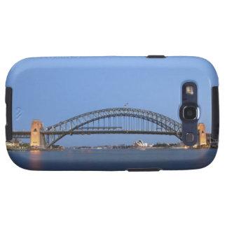 Puente y teatro de la ópera del puerto de Sydney e Galaxy S3 Cárcasas