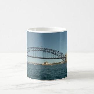 Puente y teatro de la ópera del puerto de Sydney Taza Clásica