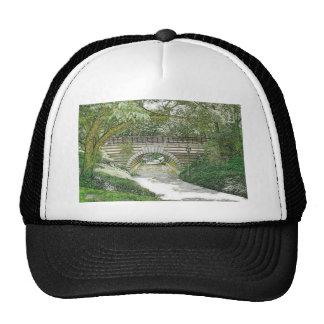 Puente y trayectoria del Central Park Gorros Bordados