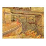 Puentes a través del Sena de Vincent van Gogh