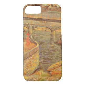 Puentes a través del Sena de Vincent van Gogh Funda iPhone 7