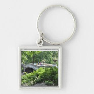 Puentes del arco del Central Park Llaveros Personalizados