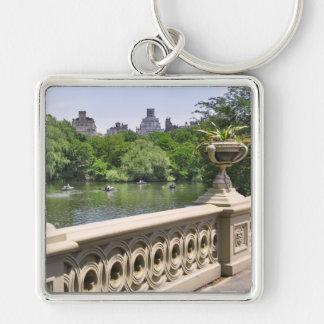 Puentes del arco del Central Park Llavero Personalizado