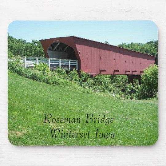 Puentes del condado de Madison Winterset, Iowa Tapete De Ratones