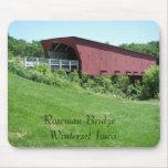 Puentes del condado de Madison Winterset, Iowa Tapete De Ratón