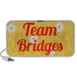 Puentes del equipo laptop altavoz
