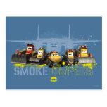 Puentes del humo gráficos tarjetas postales