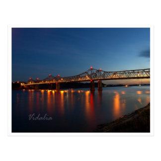 Puentes del río Misisipi Tarjetas Postales