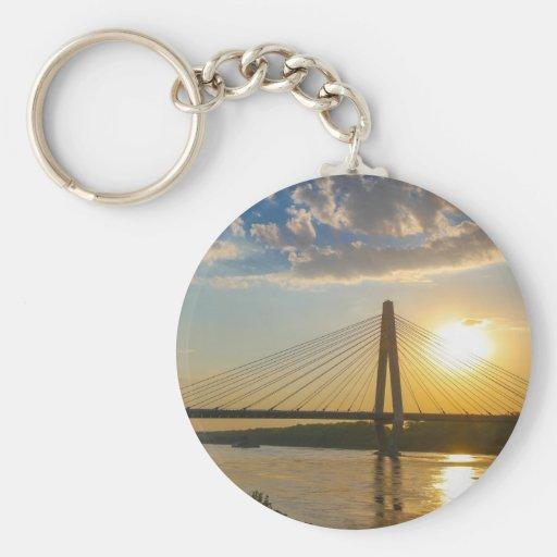 Puentes Llavero Redondo Tipo Pin