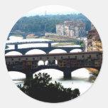 Puentes Pegatinas Redondas
