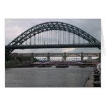 Puentes sobre el río Tyne Tarjeton