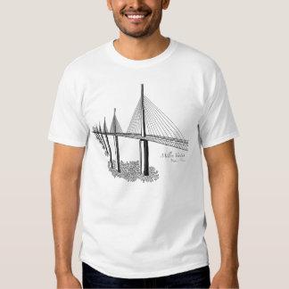 Puentes: Viaducto de Millau, Francia Remeras