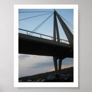 Puentes viejos poster
