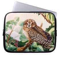 Pueo (Hawaiian Owl) Laptop Sleeve