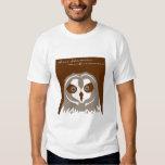 Pueo, or Hawaiian Short Eared Owl Shirt