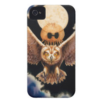 Pueo Storm iPhone 4 Cover