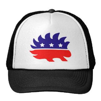 Puerco espín de la libertad gorra