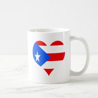 puerot rican heart coffee mug