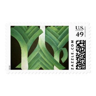 Puerros 2014 timbre postal