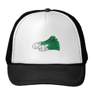 puerros gorra