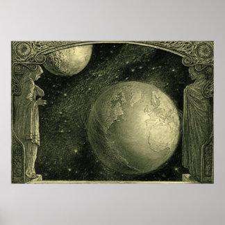 Puerta 1918 de la profecía posters