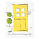 Puerta amarilla bonita comunicados personales