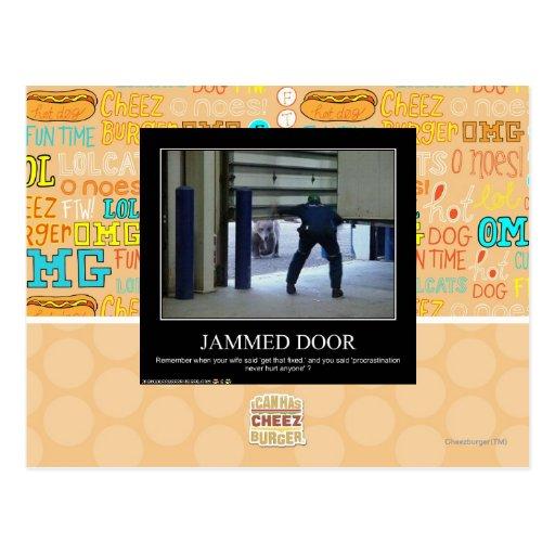 Puerta atasc postal