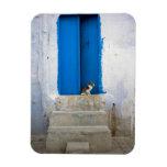 Puerta azul, Kairouan, Túnez, África Imán