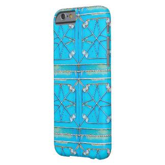 Puerta azul oxidada de Kharj del Al del vintage Funda Barely There iPhone 6