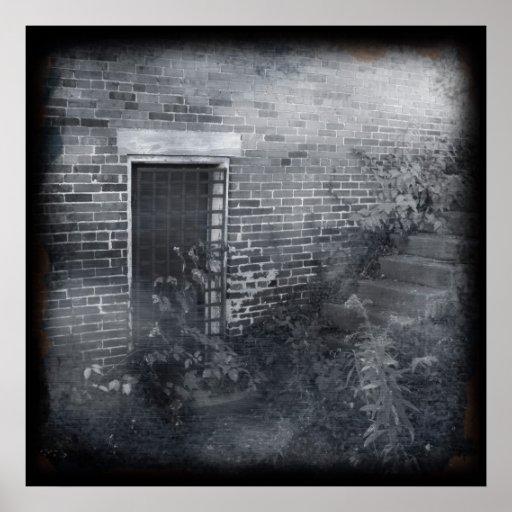 Puerta bloqueada - Daguerreotype Impresiones