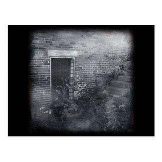 Puerta bloqueada - Daguerreotype Postales