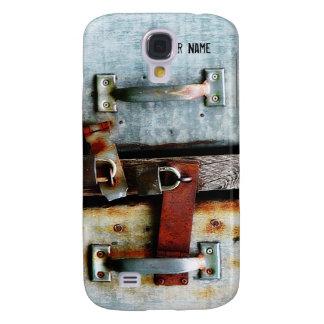 Puerta bloqueada personalizada del Grunge urbano Funda Para Galaxy S4