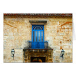 Puerta cubana felicitacion