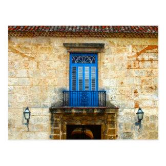 Puerta cubana postal