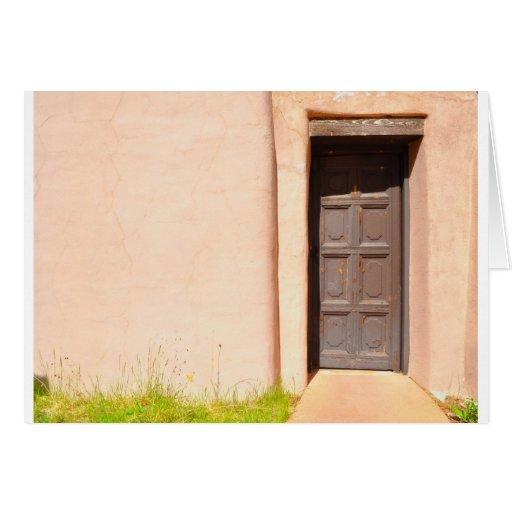 Puerta de Adobe Tarjeta De Felicitación