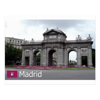 Puerta de Alcalá, Madrid Postal