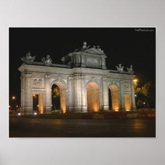 Puerta de Alcala Póster