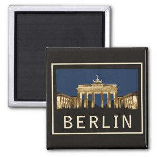 Puerta de Berlín Brandeburgo Iman De Nevera