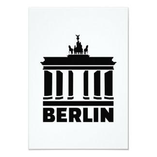 Puerta de Berlín Brandeburgo Invitación Personalizada