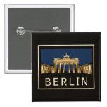 Puerta de Berlín Brandeburgo Pins