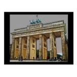 Puerta de Brandeburgo, Berlín, Alemania - a la vis Postales