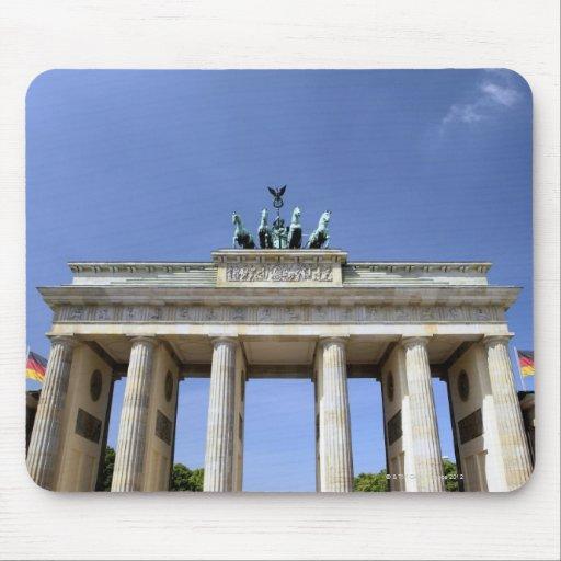 Puerta de Brandeburgo, Berlín, Alemania Alfombrillas De Raton