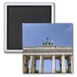 Puerta de Brandeburgo, Berlín, Alemania Imán Cuadrado
