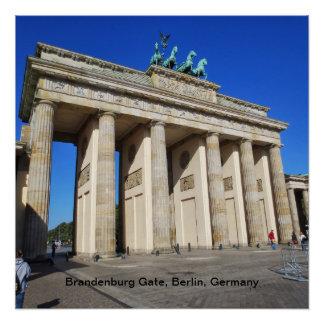 Puerta de Brandeburgo, Berlín, Alemania Perfect Poster